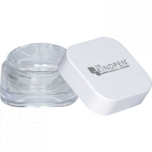 The Kind Pen glass concentrate container with top
