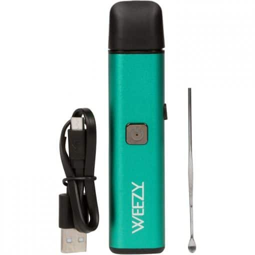 The Kind Pen Weezy portable rechargable dab pen with pick.