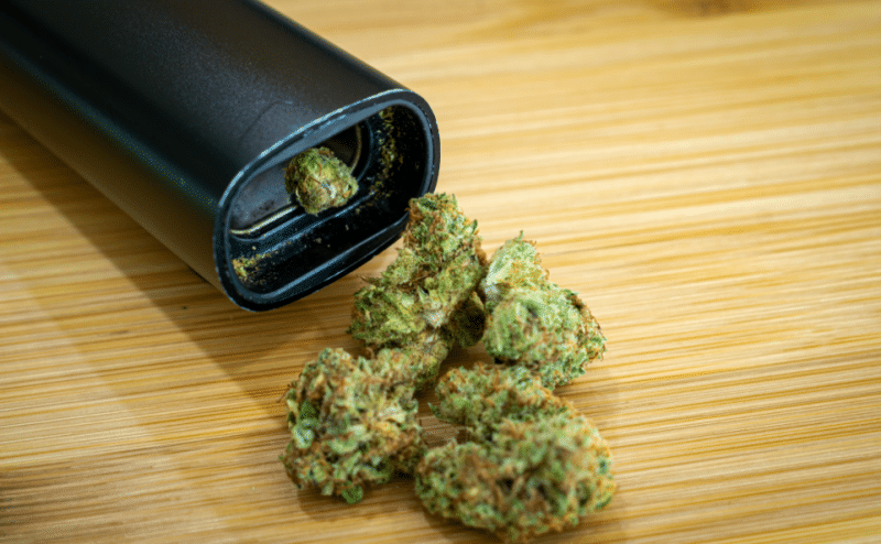 benefits of vaping on dry herbs